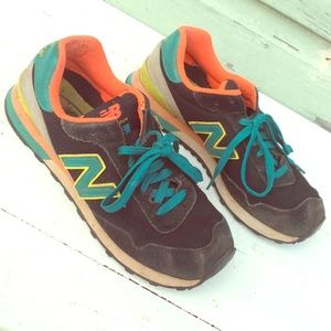 Vintage NEW BALANCE 515 classic sneakers suede